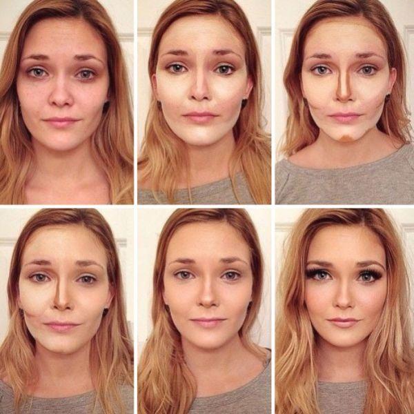 Как с помощью макияжа уменьшить лоб